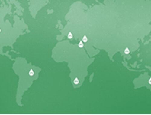 los agricultores de 8 países riegan según las recomendaciones de Manna